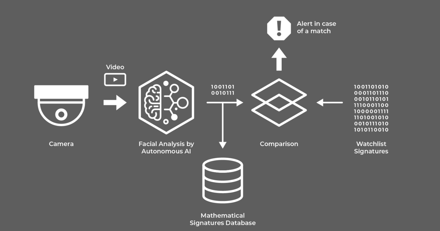 Face Recognition Process by Corsight